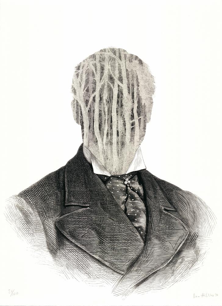 Ghost Dan Hillier Print Club London Screen Print