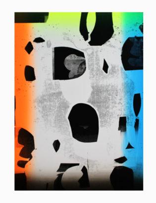 Form and Pattern Gfeller & Hellsgård Print Club London Screen Print