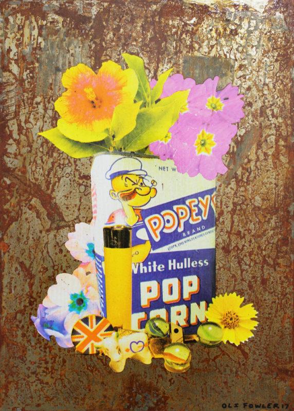 Oli Fowler Popeye Print Club London