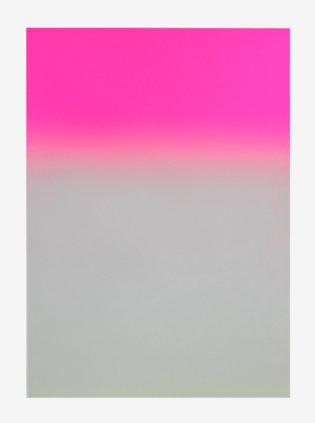 Pink Gradient Gfeller & Hellsgård Print Club London