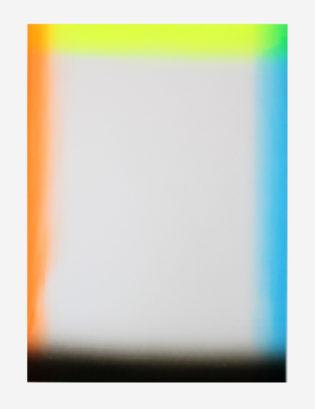 Gradient Frame Gfeller & Hellsgård Print Club London