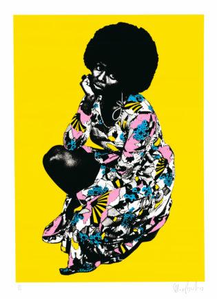 Betty Oli Fowler Print Club London Screen Print