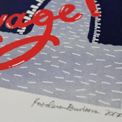 Bon Voyage Rozalina Burkova Print Club London