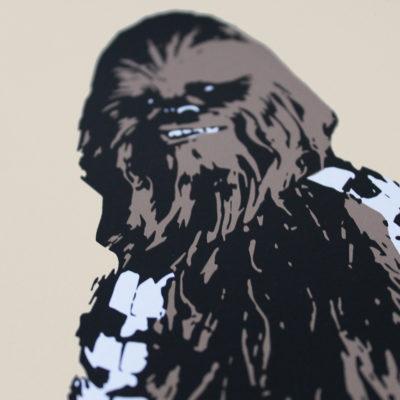 Fastfood Chewbacca Thirsty Bstrd Print Club London Screen Print