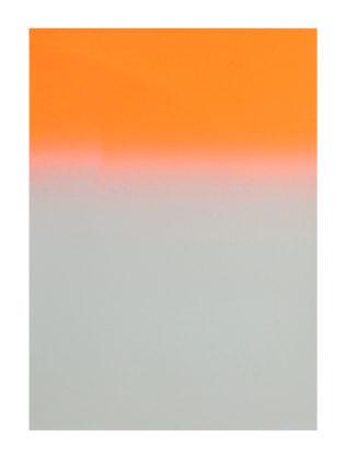 Orange Gradient by Gfeller & Hellsgård Print Club London