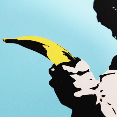 Han Solo Banana Gun Thirsty Bstrd Print Club London