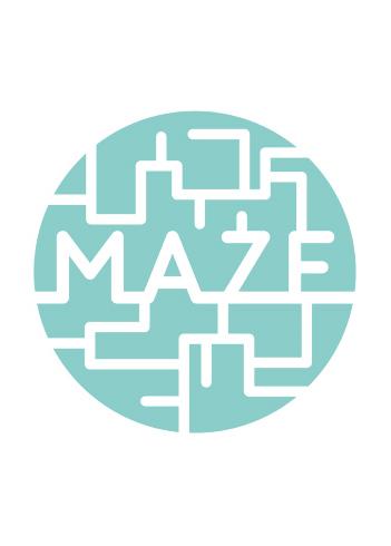 Maze Print Club London Screen Print