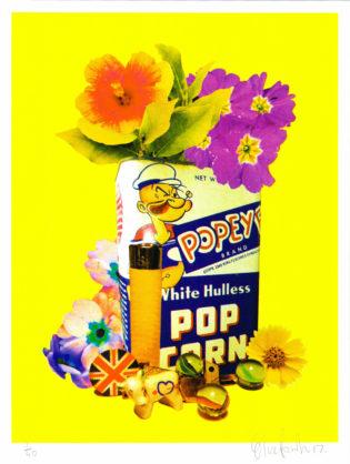 Oli Fowler Popeye Print Club London Screen Print