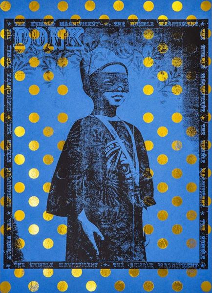 Donk - The Humble Magnificent (Hot Foil Edition) - Blue