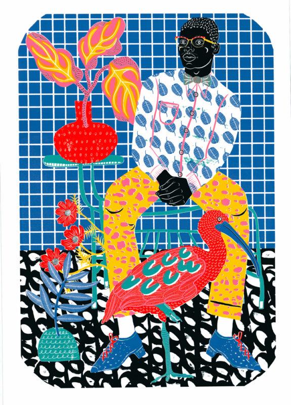 Duke Camilla Perkins Print Club London Screen Print