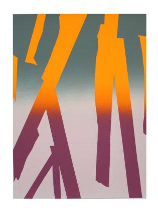 Gradient Sticks Gfeller & Hellsgard Print Club London Screen Print