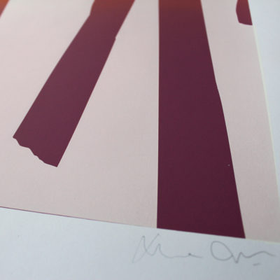 Gradient Sticks Gfeller & Hellsgard Print Club London Screen Print