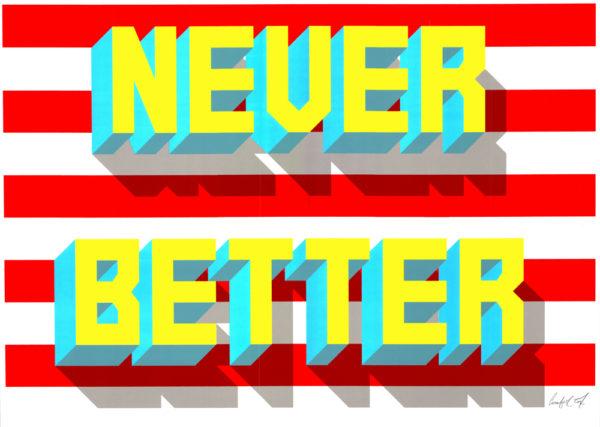 Never Better Ornamental Conifer Print Club London Screen Print