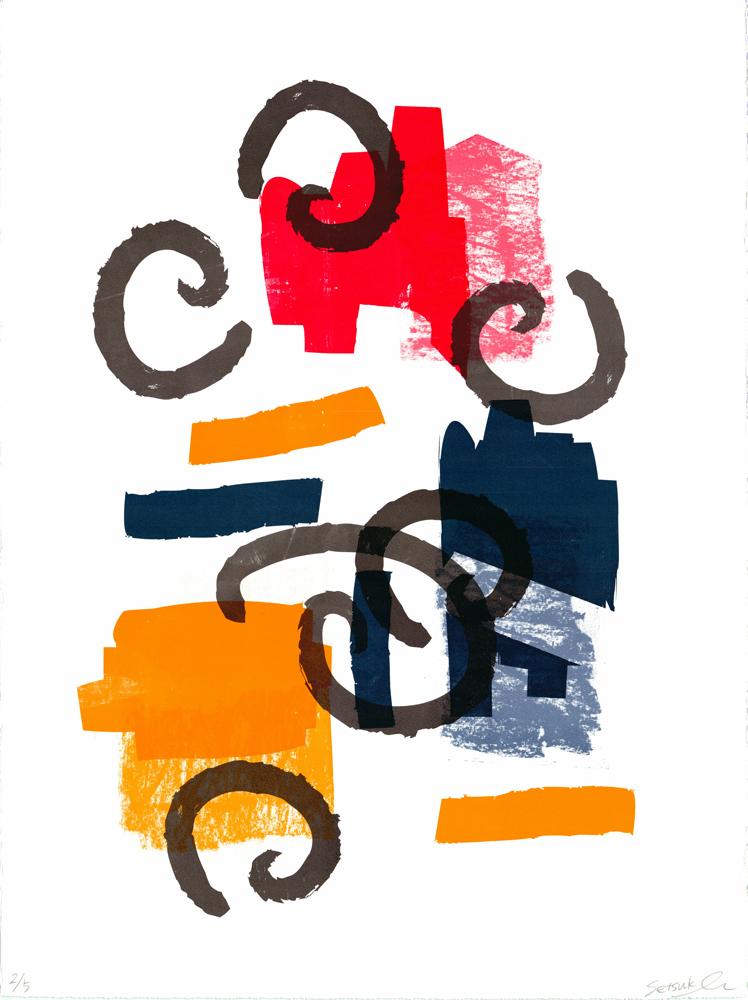 Original Setsuko Maho Print Club London Screen Print