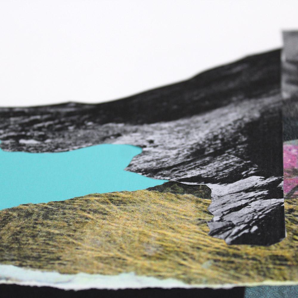 On The Barren Shores Paul Wardski Print Club London Screen Print