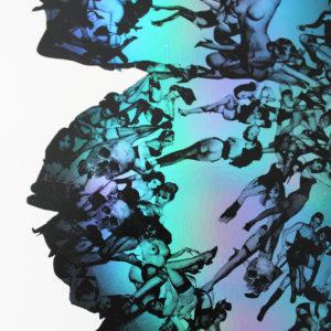 Deliverance Blue Foil Print Club London Screen Print
