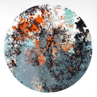 Dark Branches by Chris Keegan Print Club London Screen Print