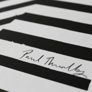 Get It On Black Gold Paul Thurlby Print Club London Screen Print