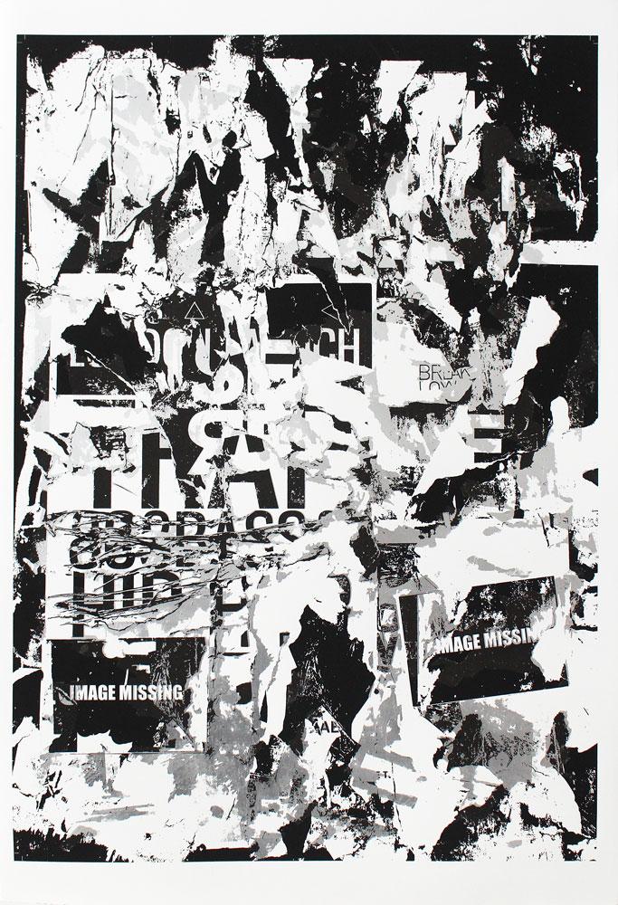 Image Missing David Shand Print Club London Screen Print