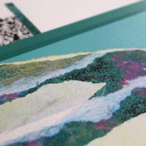 The Hollow Hills Paul Wardski Print Club London Screen Print