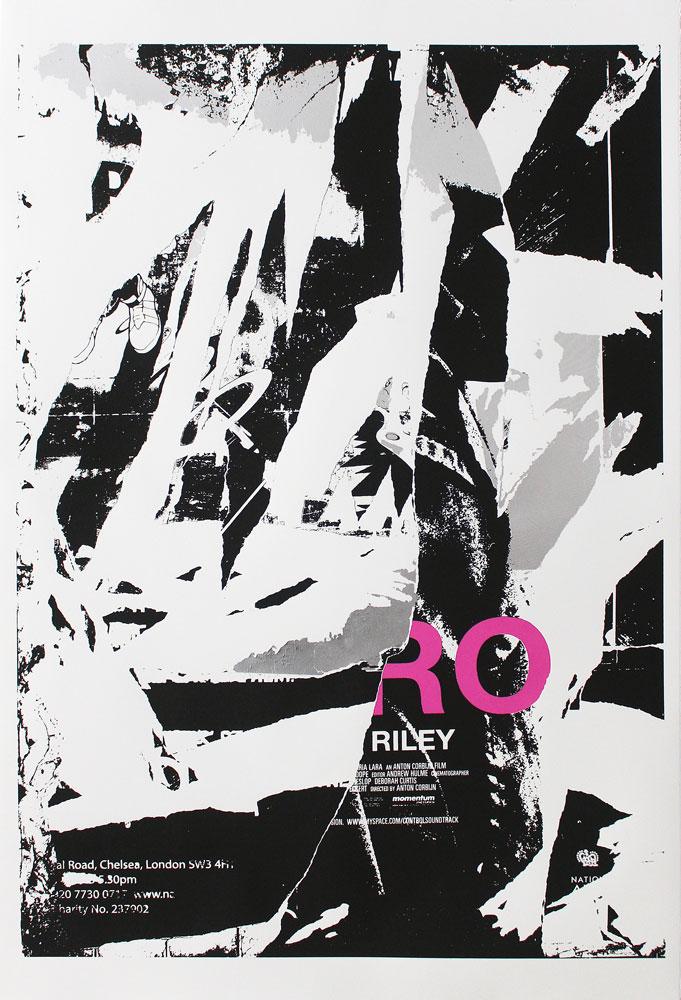 Riley David Shand Print Club London Screen Print