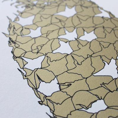 Solid Gold Mini Andy Macgregor Print Club London Screen Print