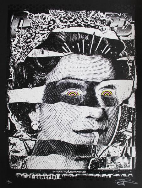 Liz Ben Rider Print Club London Screen Print