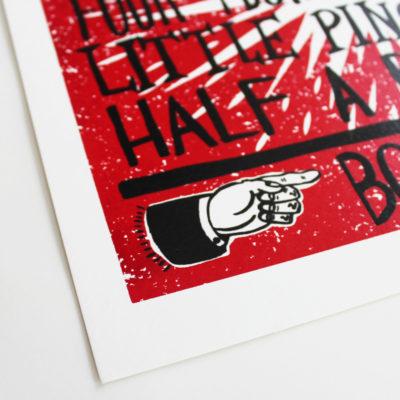 Soul Food Charlie Gould Print Club London Screen Print