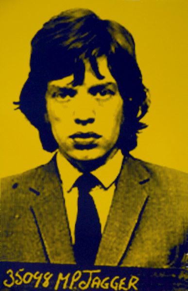Mick Jagger III David Studwell Print Club London Screen Print