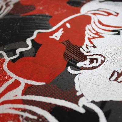 Dark Harvest Fatherless Print Club London Screen Print