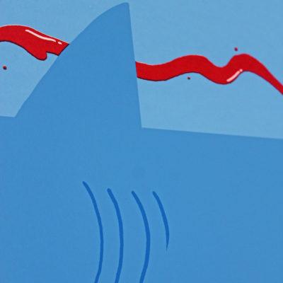 Jaws Elliot Kruszynski Print Club London Screen Print