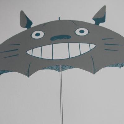My Neighbour Totoro Aleesha Nandhra Print Club London Screen Print