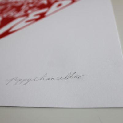 Philadelphia Love Story Poppy Chancellor Print Club London Screen Print