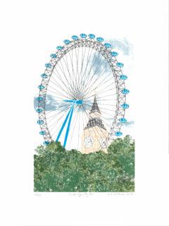 London Eye Liz Whiteman Smith
