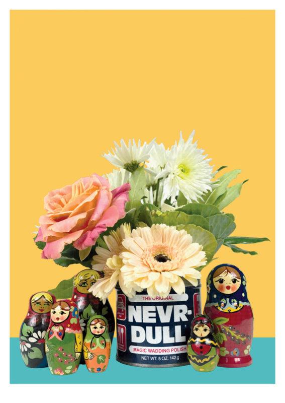 Never Dull Print Club London Screen Print