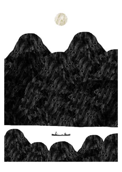 Deliverance Thomas Whitcombe Print Club London Screen Print