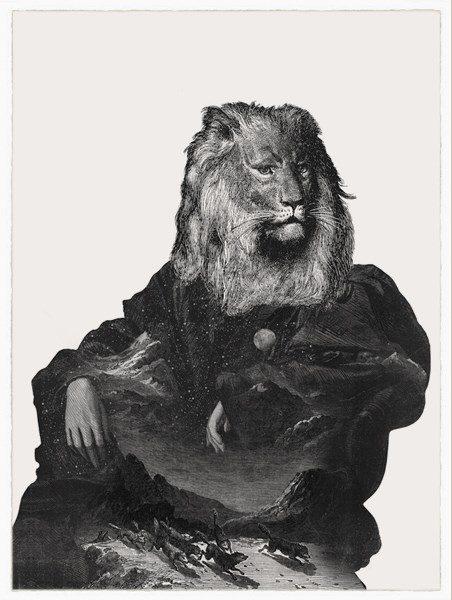 Throne Dan Hillier Print Club London Screen Print