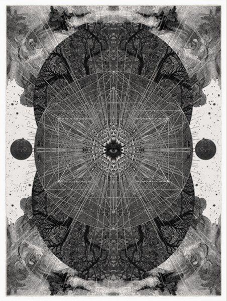Molecule Dan Hillier Print Club London Screen Print