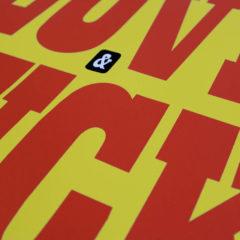 Giuseppe Fasano Do What You Love Print Club London Screen Print