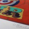 Unfair – Red William Blanchard Print Club London Screen Print