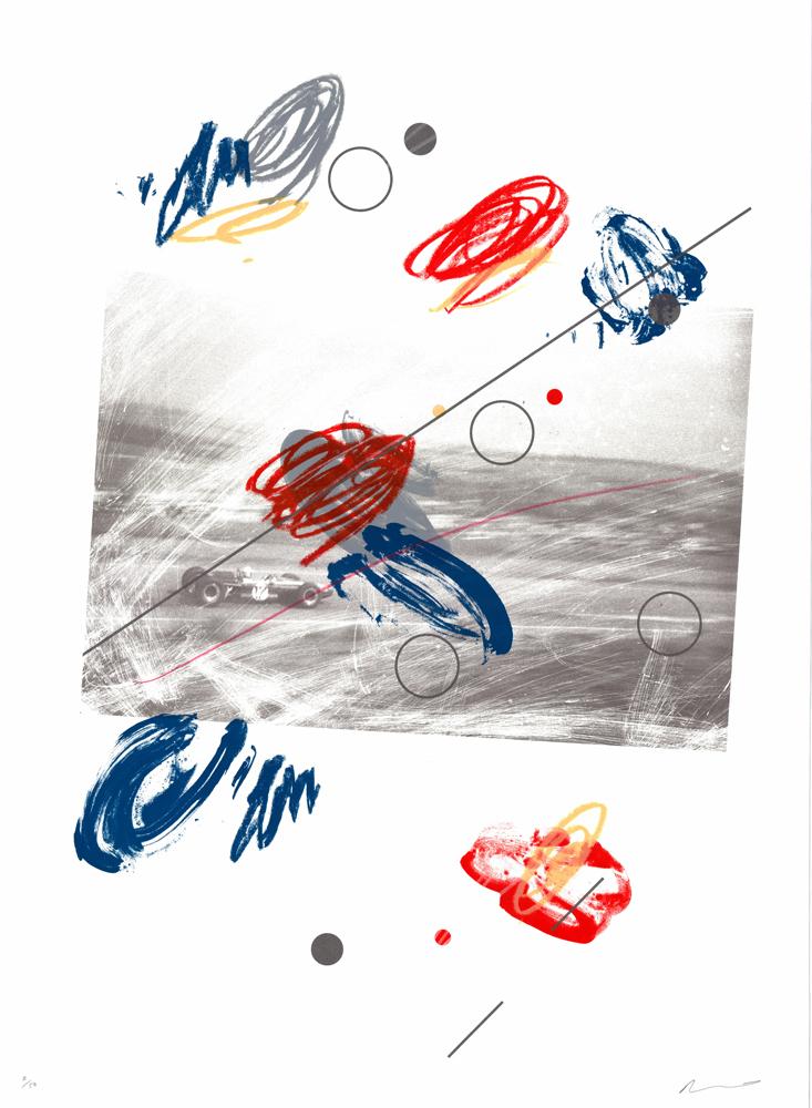 Michel Valliant Adam Bridgland Print Club London Screen Print