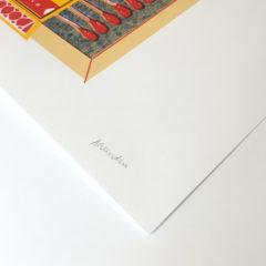 The Big Sleep Aleesha Nandhra Print Club London Screen Print