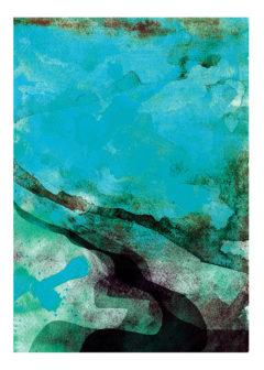 Sea Gavin Dobson Print Club London Screen Print