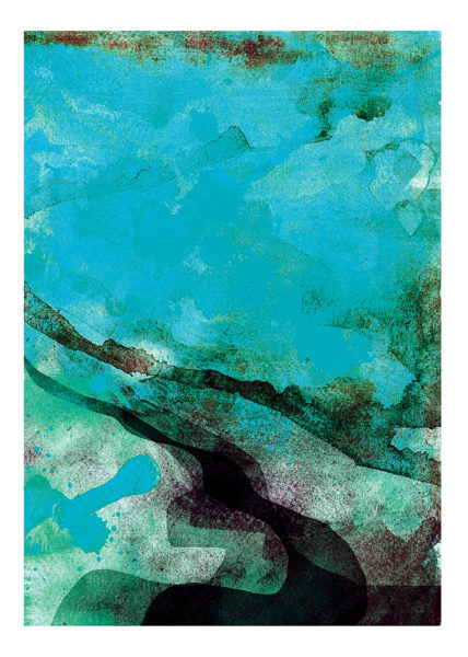 Sea Gavin Dobson Print Club London Screen Print