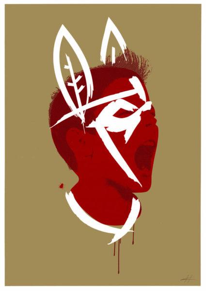 Lord of the Flies Heath Kane Print Club London Screen Print