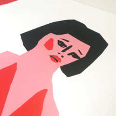 Bonjour Tristesse Lucille Moore Print Club London Screen Print