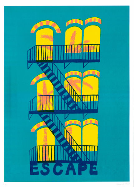 A Little Life Summer Du Plessis Print Club London Screen Print