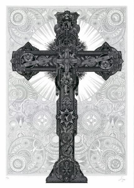 The Bible 57 Design Print Club London Screen Print