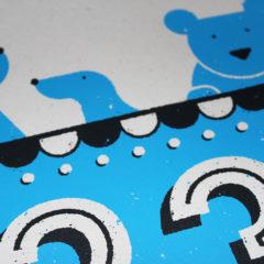 Josh Hurley 123 Print Club London Screen Print