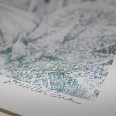 Baguerra Lucille Clerc Print Club London Screen Print